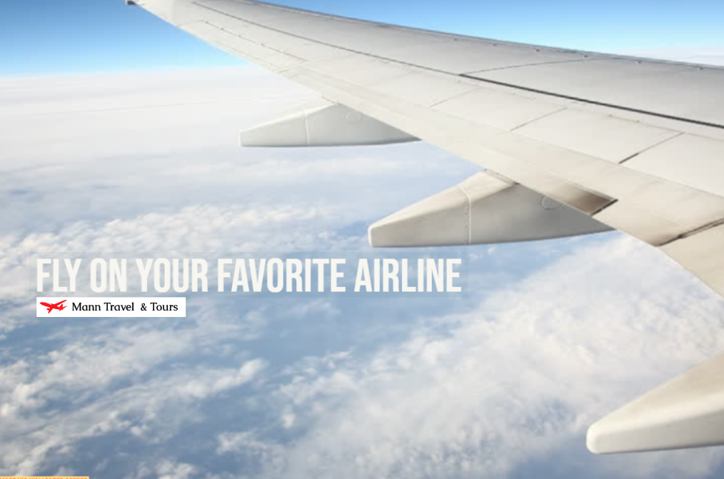 airplane ad